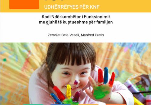 """Albanische Version der Broschüre """"ICF in familienfreundlicher Sprache"""" ist jetzt verfügbar"""