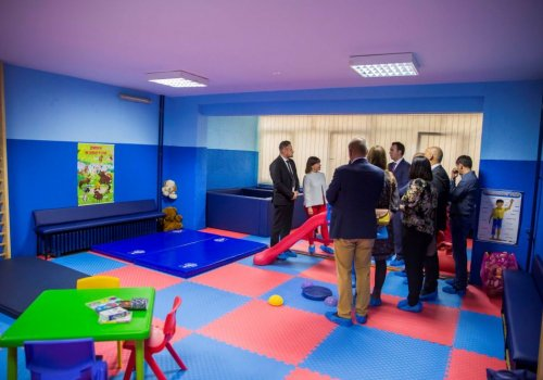 Skopje: Eröffnung Center