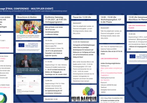 """Е8 : Меѓународна конференција на тема МКФ """"МКФ@УЧИЛИШТЕ - заеднички инклузивен јазик"""""""