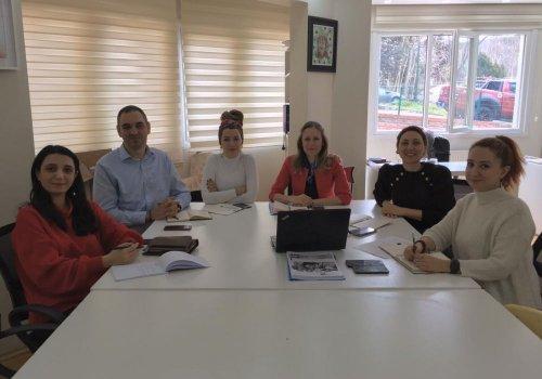 Meeting zwischen dem regionalen Direktorium für Nationale Bildung Istanbul und TDSD